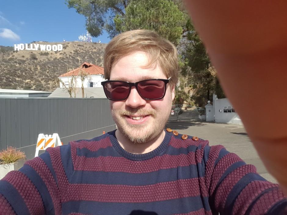 Billede af Mads Palm Jensen i Hollywood